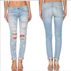 Rag & Bone/JEAN The Dre boyfriend Skinny Jeans NWT